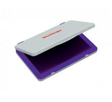 Штемпельная подушка BERLINGO 120х90 мм фиолетовая пластиковая