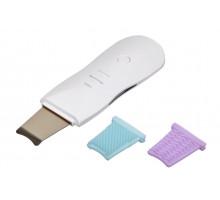 Аппарат для ультразвуковой чистки, фонофореза и микромассажа лица с дополнительными насадками для брашинга