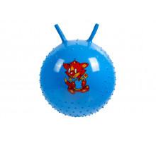 Детский массажный гимнастический мяч, синий