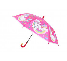 Зонт «ЕДИНОРОГ», розовый
