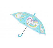 Зонт «ЕДИНОРОГ», голубой