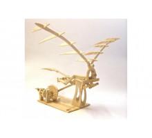 Конструктор из дерева «ОРНИТОПТЕР» Леонардо Да Винчи