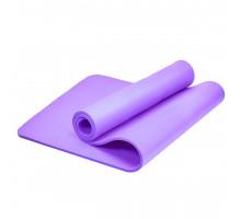Коврик для йоги и фитнеса Bradex SF 0677, 173*61*1 см NBR, фиолетовый
