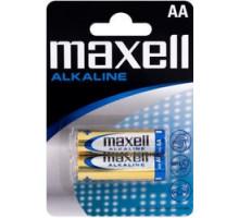 Батарейка AA LR6 Maxell Алкалайн 2 шт. в блистере 790321