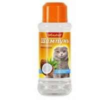 Amstrel Шампунь для кошек восстанавливающий с кокосовым маслом и пантенолом, 320 мл