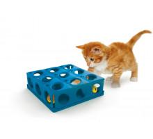 Игрушка Georplast Tricky для кошек с 2 шариками, 25*25*9 см, шт