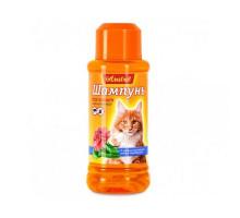 Amstrel Шампунь для кошек антипаразитарный с маслом пальмарозы, алоэ и экстрактом пиретрума, 320 мл