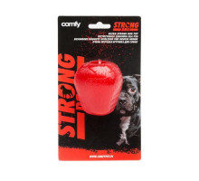 Игрушка д/с COMFY STRONG клубника из супер прочной резины д/лакомств красная 7,5*6,5 см, шт