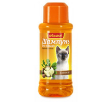 Amstrel Шампунь для гладкошерстных кошек с маслом ши, 320 мл