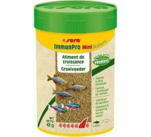 "Sera Корм гранулы для выращивания всех видов мелких рыб ""ImmunPro mini Nature"", 100 мл"